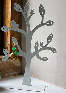 Cut Tree Jewellery Stand - jewellery storage & trinket boxes