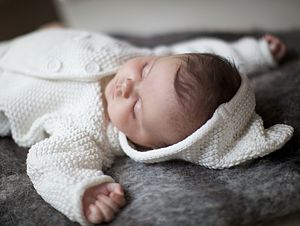 New Baby Cotton Hooded Cardigan - jumpers & cardigans