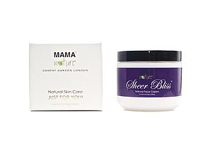 Sheer Bliss Natural Face Cream