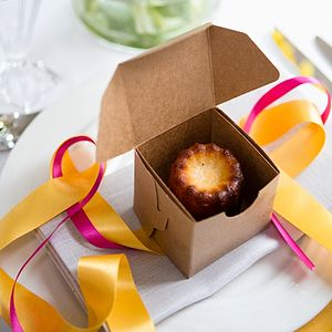 10 Cannelé De Bordeaux Wedding Favours - edible favours