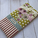 Roses And Polka Dots Glasses Case