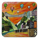 Clifton Balloons Sunset Bristol Coaster