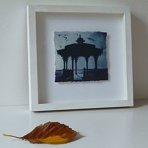 The Bandstand, Brighton Solar Etching - posters & prints