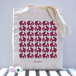 Elephant Tote Bag - bags, purses & wallets