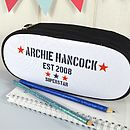 Boy's Personalised Pencil Case