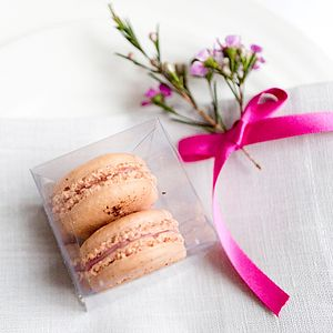 Macaron Wedding Favour - macarons and meringues
