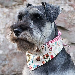 Christmas Dog Bandanas - dogs