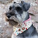Christmas Icons/Gingham Dog Bandana