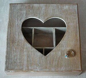 Personalised Wooden Keepsake Jewellery Box - storage & organisers
