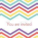 Graphics Love brights wedding stationery
