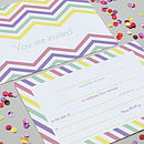 Graphics Love pastel wedding stationery