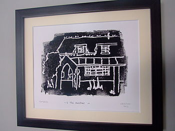 Personalised House Portrait Print