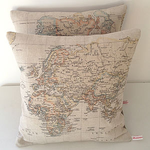 Around The World Cushion - cushions