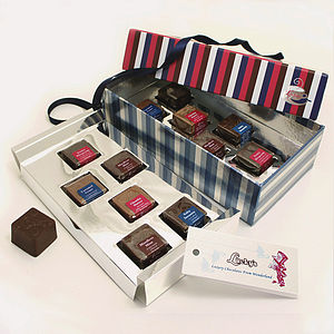 Fairy Tale Gourmet Chocolates Mad Hatter Gift Box 12