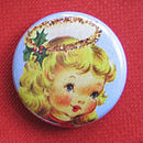 Vintage Angel Badge Card