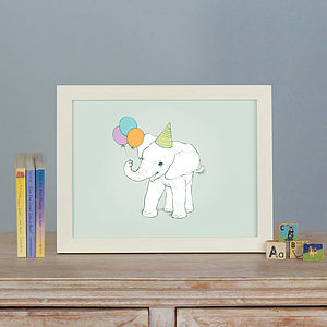 Illustrated Animal Character Prints