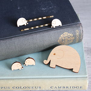 Wooden Elephant Jewellery Gift Set - jewellery sets