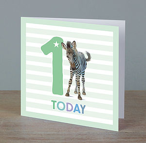 Boy Ages One To Five Birthday Cards - 1st birthday cards