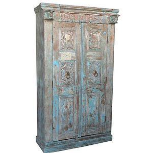 Antique Wooden Wardrobe