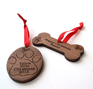 Beloved Pet Christmas Decoration - tree decorations