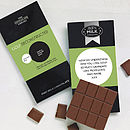 Golf Lover's Gift Chocolate Bar