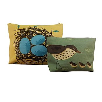 Birdy Wash Bag Twin Set