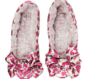 Ruby And Ed Leopard Ballet Slipper - shoes