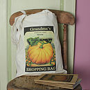 Personalised Gardener's Tote Bag