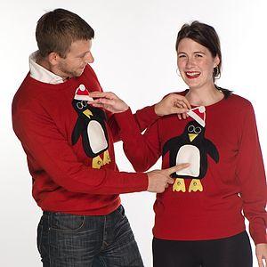 Men's Special Features Penguin Festive Jumper
