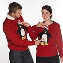 Men's Special Features Penguin Festive Jumper