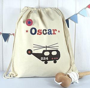Boy's Personalised Print Kit Bag - bags, purses & wallets