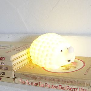 Hedgehog Night Light - children's lighting