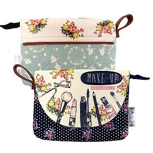 Ditsy Make Up Bag - bags & purses