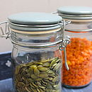 Glass And Ceramic Storage Jars   Medium