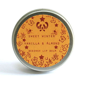 Sweet Winter Vanilla And Almond Lip Balm