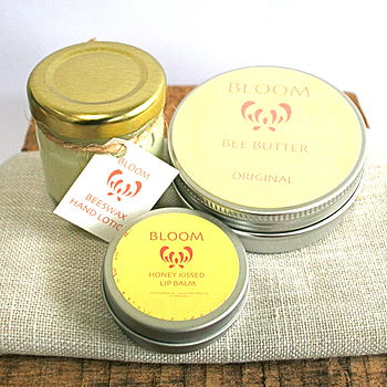 Beeswax Skin Care Gift Set