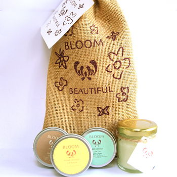 Lip Balm And Hand Lotion Gift Set