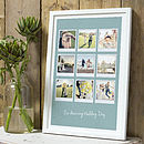 Personalised Polaroid Album in 23mm white frame