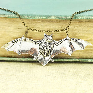 Bat Necklace - women's jewellery