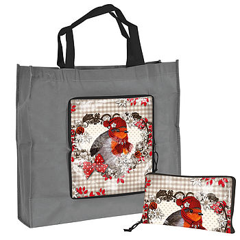 Robin Foldaway Shopping Bag