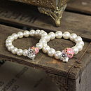 10. Daisy Heart and Rose Quartz Bead