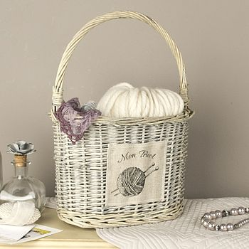 French Sewing Basket