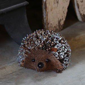 Woodland Hedgehog - tree decorations