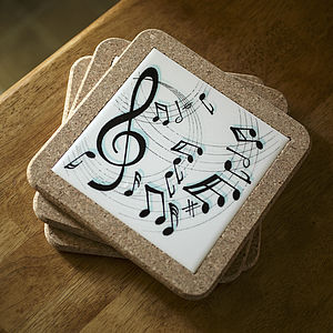 Music Table Mat - trivets