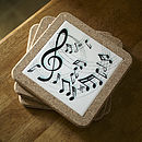 Music Table Mat