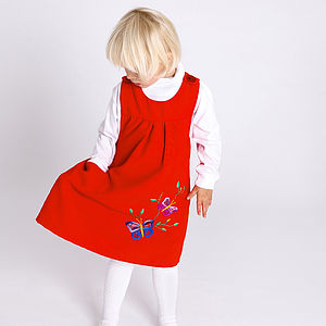 Hand Embroidered Butterfly Winter Tunic