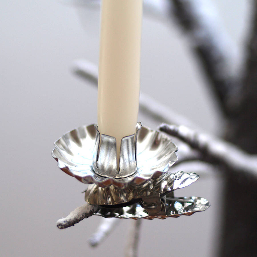 Christmas tree candle holders pictures to pin on pinterest for How to make christmas candle holders