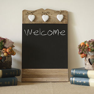 Blackboard Noticeboard Sign - decorative accessories