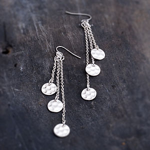 Ruby Earrings - women's jewellery