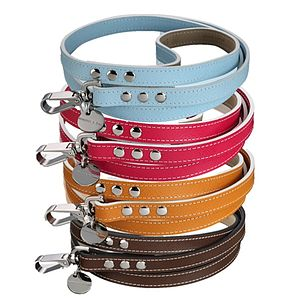 Saffiano Leather Dog Lead